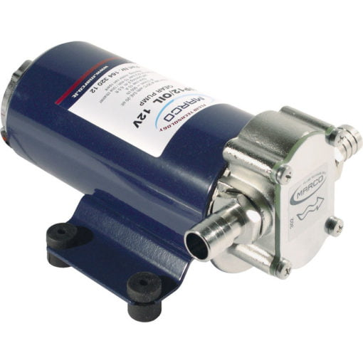Marco UP12/OIL Gear pump for lubricating oil (12 Volt) 3