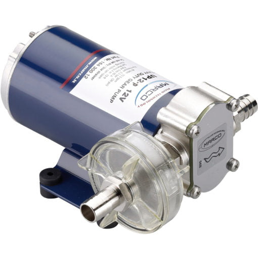 Marco UP12-P PTFE Gear pump 9.5 gpm - 36 l/min (24 Volt) 3