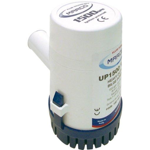 Marco UP1500 Submersible pump 1500 gph - 95 l/min (12 Volt) 3