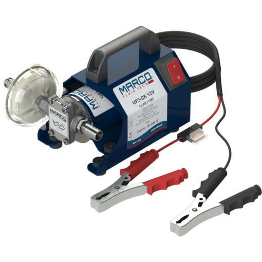Marco UP3-CK Portable gear pump kit 4 gpm - 15 l/min (24 Volt) 3