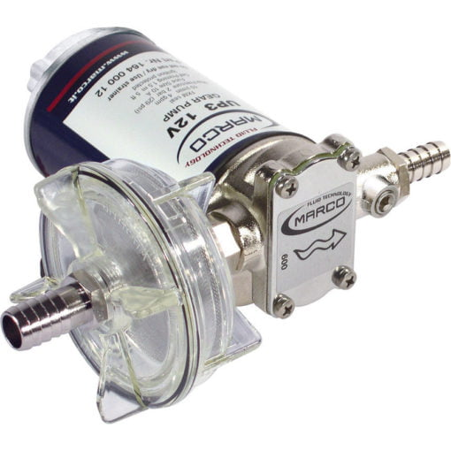Marco UP3 Bronze gear pump 4 gpm - 15 l/min (12 Volt) 3