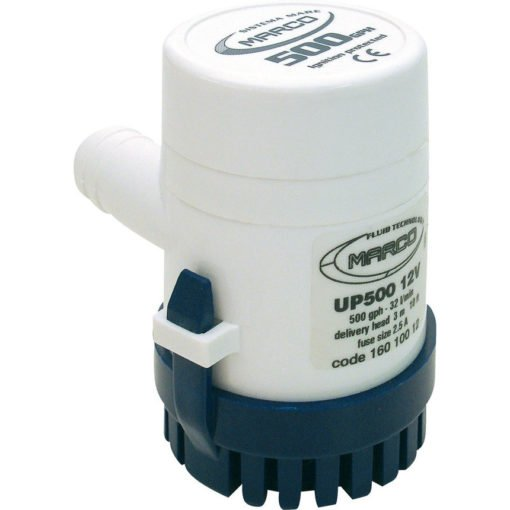 Marco UP500 Submersible pump 500 gph - 32 l/min (24 Volt) 3