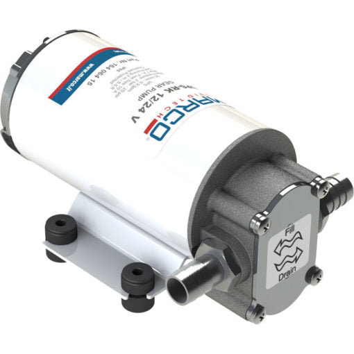 Marco UP6-RK Reversible pump kit 6.9 gpm - 26 l/min with panel (12-24 Volt) 3