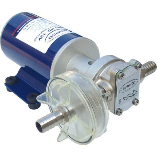 Marco UP9-HD Heavy duty pump with flange 3.2 gpm - 12 l/min (12 Volt) 3