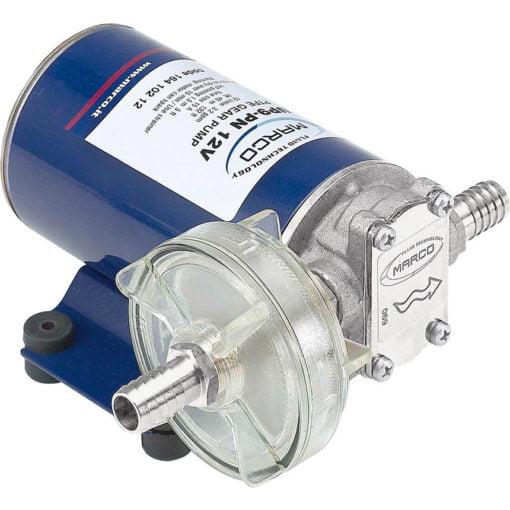 Marco UP9-P PTFE Gear pump 3.2 gpm - 12 l/min (24 Volt) 3