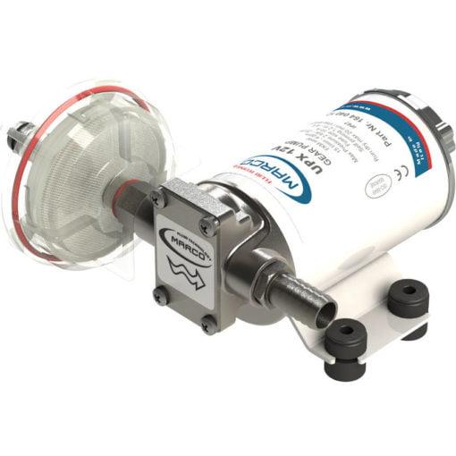 Marco UPX Gear pump 4 gpm - 15 l/min - s.s. AISI 316 L (24 Volt) 3