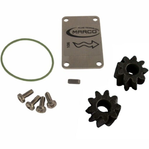 Marco Spare Part R6400125 - R-KIT ø24 mm PEEK gears (VITON 2162 O-Ring) 3
